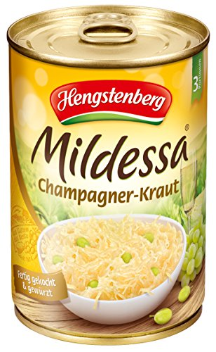 Hengstenberg Champagne Sauerkraut 14 1 Ounce Tins