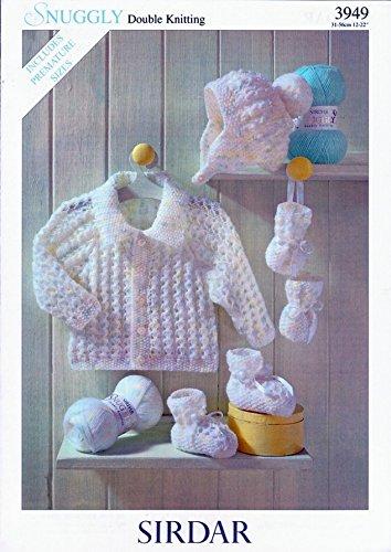 Amazon Sirdar Baby Jacket Hat Mittens Booties Knitting