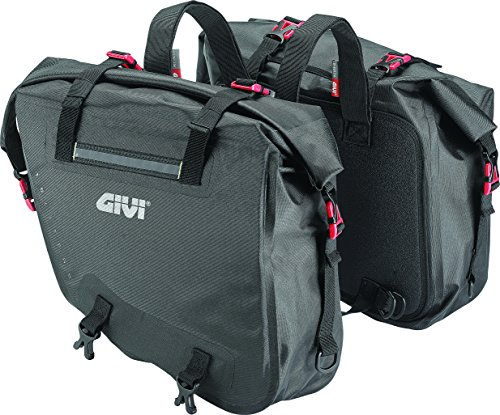 Givi GRT708 Waterproof Saddlebags (Pair) 15 Liters Gravel-T Range ()