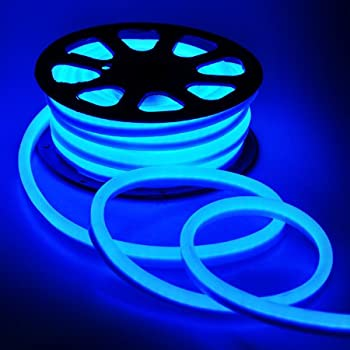 Amazon led neon rope light 50ft blue for outdoor or decorative led neon rope light 50ft blue for outdoor or decorative use aloadofball Gallery