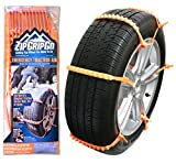chains alternative zip grip go - Zip Grip Go Cleated Tire Traction Device for Cars, Vans and Light Trucks