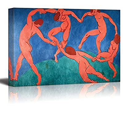 Dance by Henri Matisse Giclee Canvas Prints Wrapped Gallery Wall Art | Stretched and Framed Ready to Hang - 24