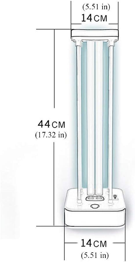 ZHDD Lámpara De Esterilización UV, Lámpara De Desinfección UV ...