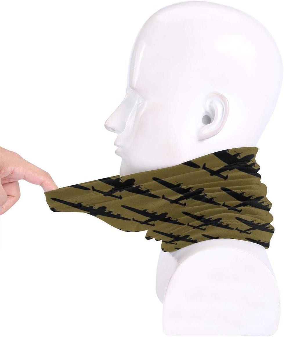 NA Lancaster Bomber Sun-Proof Sport Face Mask Cover Scarf Bandana Helmet Liner Hatliner Breathable Scarf Headwrap For Men Women