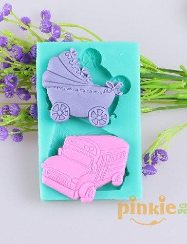 coches y carros de bebé fondant pastel moldes de silicona ...