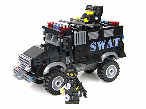 Truck - Battle Brick Custom Set (Armored Truck)