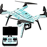 MightySkins Protective Vinyl Skin Decal for 3DR Solo Drone Quadcopter wrap cover sticker skins Faith