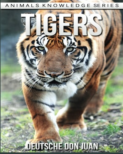 Tigers: Beautiful Pictures & Interesting Facts Children Book About Tigers (Animals Knowledge Series)