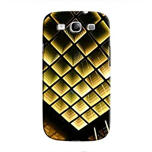 Cover It Up - Infinite Golden Squares Galaxy S3 Hard Case