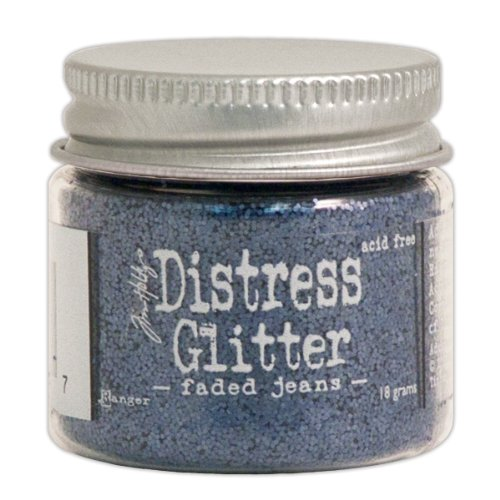 Ranger Tim Holtz Distress Glitter, 1-Ounce, Faded (Tim Holtz Embossing Powder)
