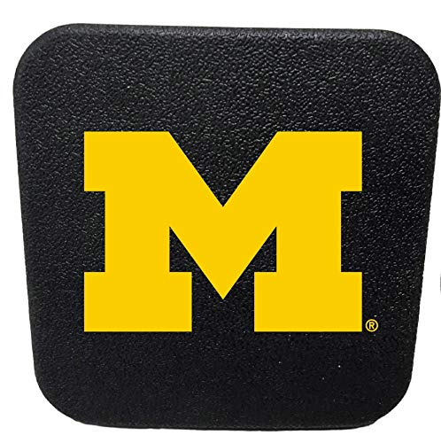 (Racing Reflections Michigan Wolverines Rigid Rubber Plastic Hitch Cover Plug Bumper Trailer Auto University of)