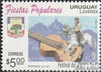 Prophila Uruguay 2242 (Completa.edición.) 1997 Festivales (Sellos para los coleccionistas
