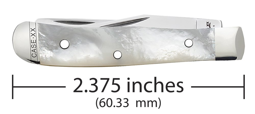 Case Mother-of-Pearl Tiny Trapper Pocket Knife by Case (Image #3)