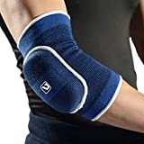 Liveup SPORTS Compression Elbow Pad Cap Brace Support for Yoga Pilates Tennis Weightlifting Arthritis