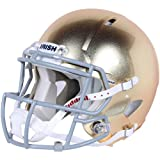 NCAA Riddell Notre Dame Fighting Irish Authentic Full-Size Speed Helmet Textured Gold Finish