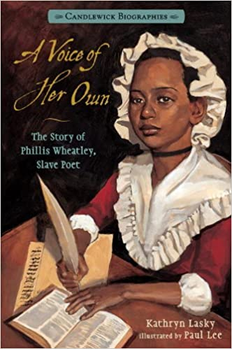 Download online A Voice of Her Own: Candlewick Biographies: The Story of Phillis Wheatley, Slave Poet PDF, azw (Kindle)