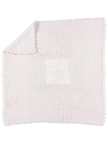 Barefoot Dreams CozyChic Baby Receiving Blanket (Pink)
