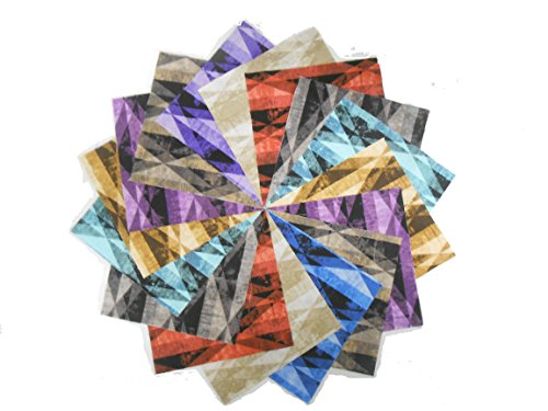 (36-5 inch Prism Fabric Squares by MICHEAL MILLER- 9 Colors- 4 of Each- New LINE!!)