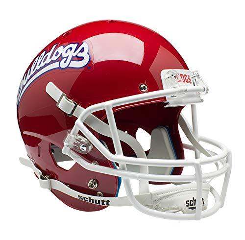 - Schutt NCAA Fresno State Bulldogs Replica XP Football Helmet, Scarlet Alt. 1