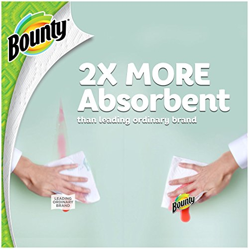 Bounty Paper Towels White 6 Huge Rolls