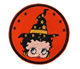 Hocus Pocus Betty Boop Character Witch Novelty Iron on Patch