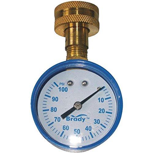 Brady Pressure Gauge 0 100 Lead