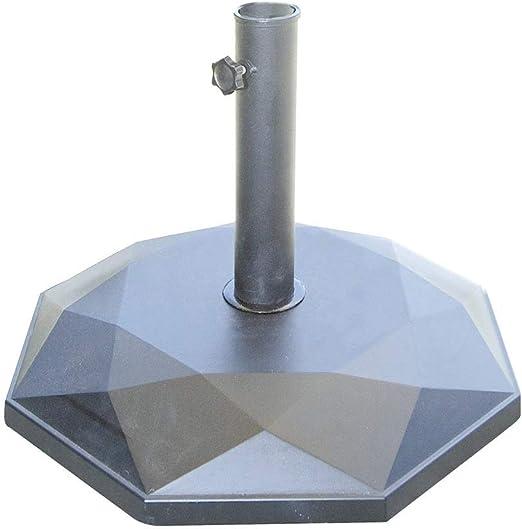 vorghini Base para sombrilla de jardín de hormigón 25 kg unshake ...