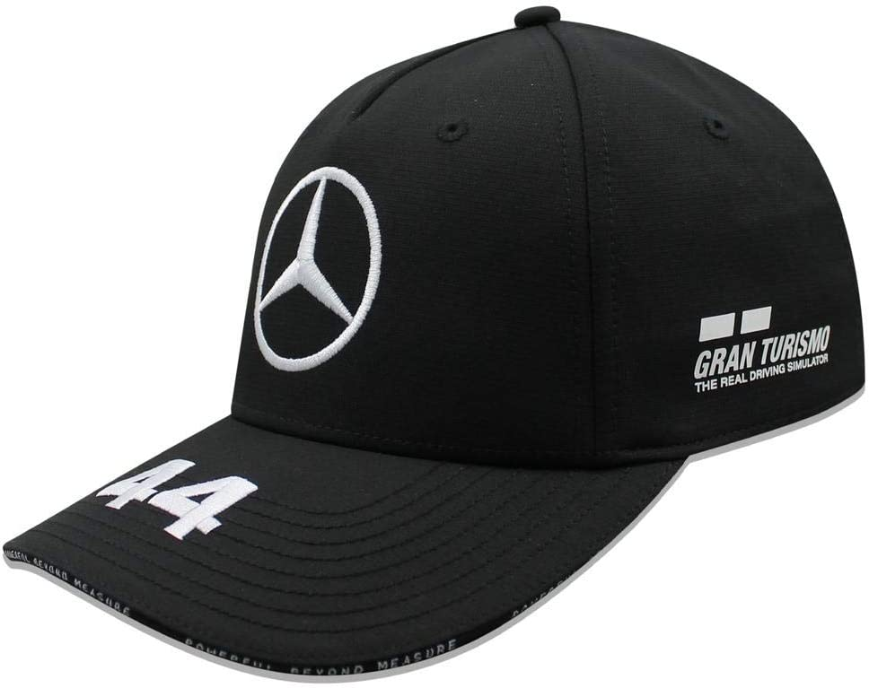 Mercedes AMG Petronas F1 Driver Lewis Hamilton Gorra Negro Oficial ...