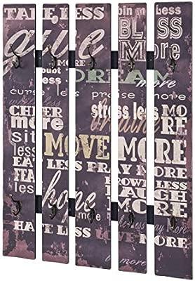 Haku Möbel 89918 Armario de Pared 70 x 9 x 100 cm, Vintage
