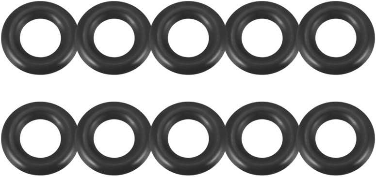 Pack of 10 O-Ring Seals Buna-N; 9mm X 12mm X 1.5mm Width; Sealing Gasket