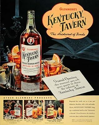 1940 Ad Kentucky Tavern Bourbon Whiskey Alcohol Liquor - Original Print Ad