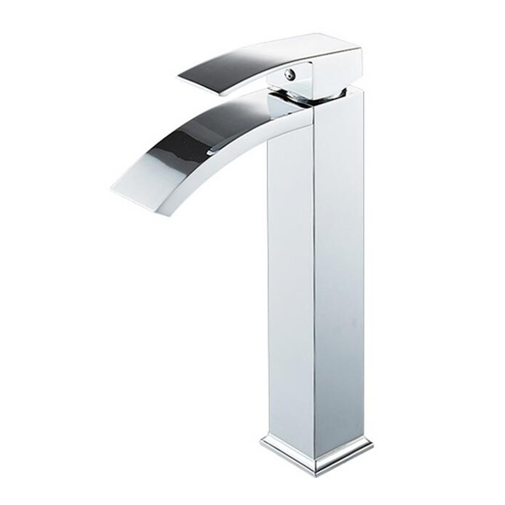 High WTL Faucet Waterfall Faucet Basin Hot And Cold Faucet Bathroom Wash Basin On The Basin Faucet ( Size   Short )