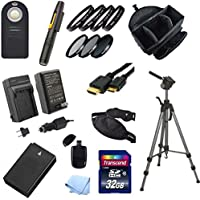 Digital SLR Photography Starter Acessory Kit for Nikon 1 J1, 1 J2, 1 J3 and 1 S1