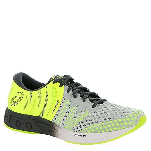 ASICS Noosa FF 2 Men's Running Shoe, Glacier GreyDark GreySafety Yellow, 11.5 M US