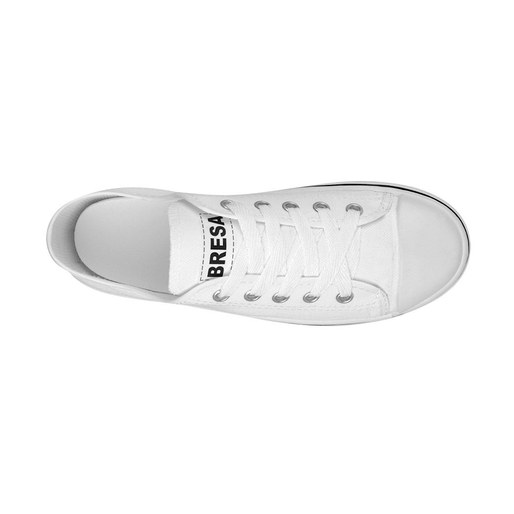 BRESA Tenis Casuales Casuales Casuales Unisex Textil Blanco 860 efb32a