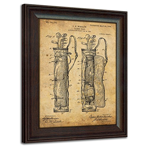 Framed Golf Patent Art Prints