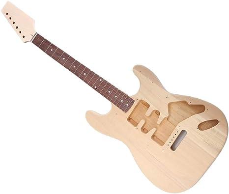 Monster de Guitarras Montar, E de Guitarra Propio, Do-It-Yourself Productos Letter Guitarra Montar, Guitarra St de selbstbau Kit de, Strat Style, Tilo Arce Palisandro: Amazon.es: Hogar
