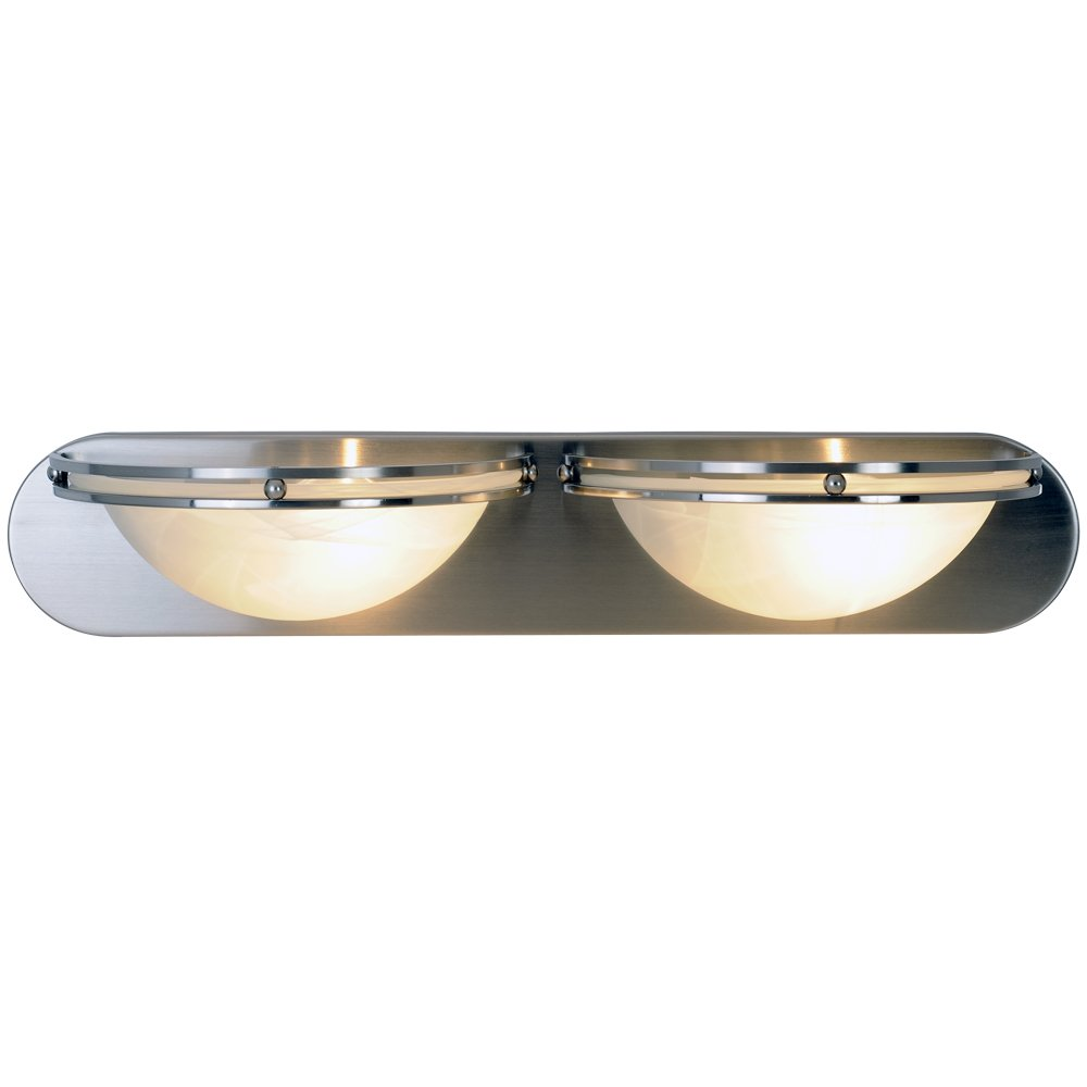 contemporary vanity lighting. monument 617609 contemporary lighting collection vanity fixture brushed nickel 48inch w by 458inch h 6inch e bathroom light amazoncom r