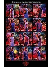 Stranger Things Maxi-poster, meerkleurig, 61 x 91,5 cm