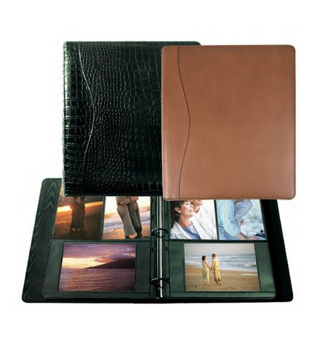 Raika SC 161 WINE Three Ring Binder Photo Album - Wine by Raika