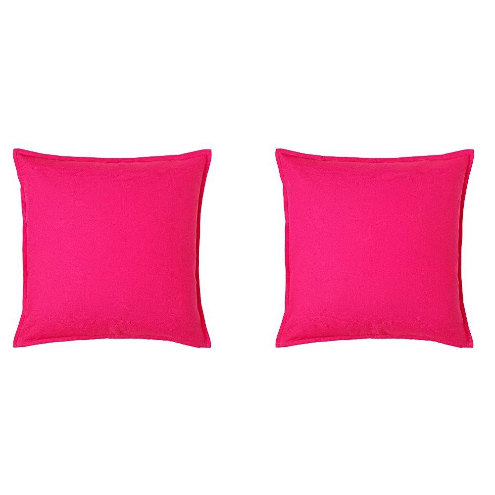 Ikea GURLI Fundas de cojín, color rosa brillante, 20 x 20 ...