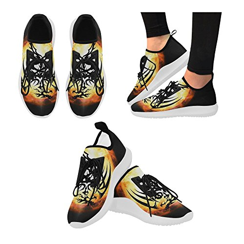 Interestprint Custom Dolphin Ultra Light Zapatillas Para Mujer Dragon2