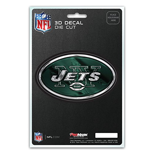 York Football New Logo Jets (NFL New York Jets 3-D Decal)