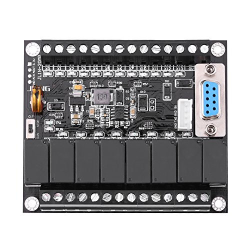 Programmable Logic Controller PLC Regulator DC 24V FX1N-20MR Industrial Control -