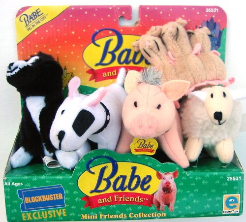 Babe Mini (BABE Pig in the City Mini Friends Boxed Set Collection)