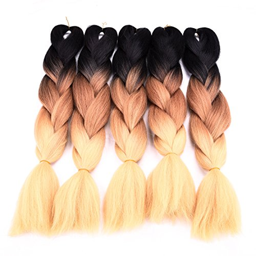 Silike Pieces Yellow Braiding Extensions product image