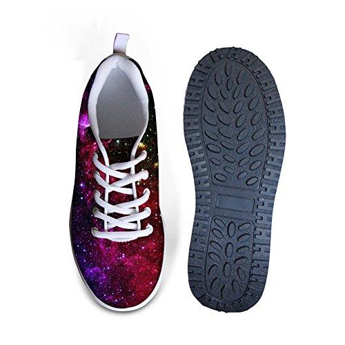 Per Te Disegni Cool Galaxy Print Womens Zeppe Comfort Piattaforma Scarpe Da Passeggio Galaxy A1