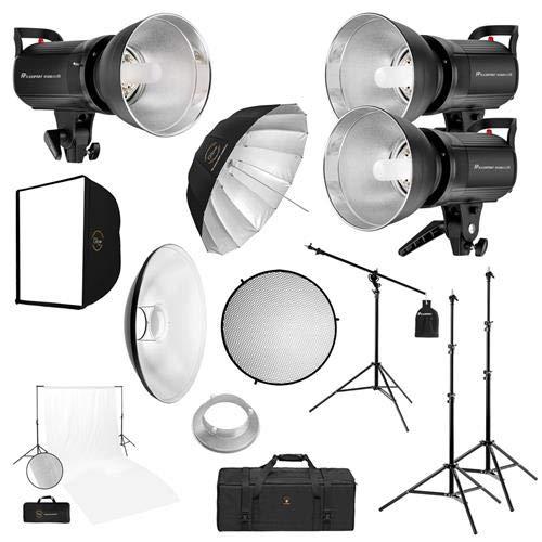 Flashpoint R2 Studio Series 3-Monolight Pro Starter Fashion Kit by Flashpoint