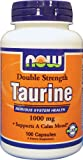 NOW Foods Taurine 500 mg Caps, 100 ct Review