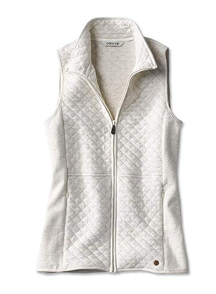 896dbc7ea3b Orvis Quilted Sweatshirt Waistcoat: Amazon.co.uk: Clothing